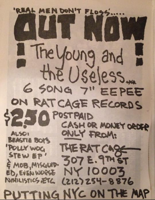 Young And The Useless (Rat Cage Records)