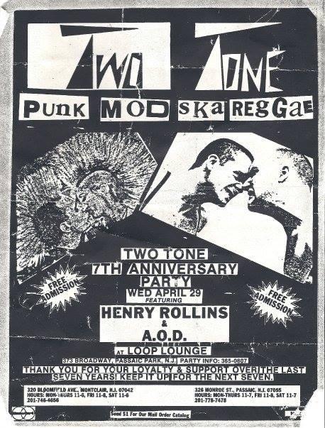 Henry Rollins-Adrenalin OD @ Passaic Park NJ 4-29-87