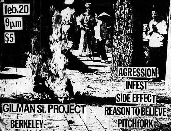 Aggression-Infest-Side Effect-Reason To Believe-Pitchfork @ Berkeley CA 2-20-??