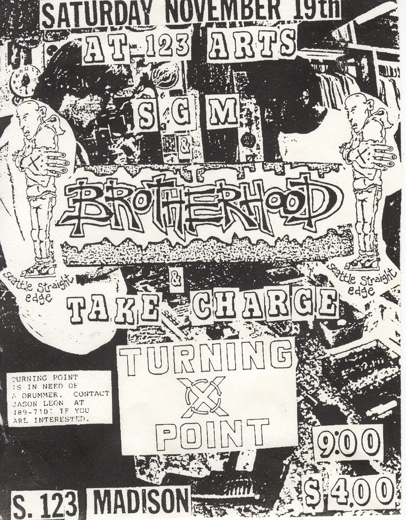 Brotherhood-Take Charge-Turning Point @ Spokane WA 11-19-88