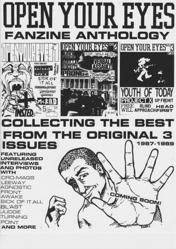 Open Your Eyes Fanzine Anthology