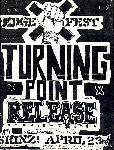 Turning Point-Release-Edgewise @ Philadelphia PA 4-23-89