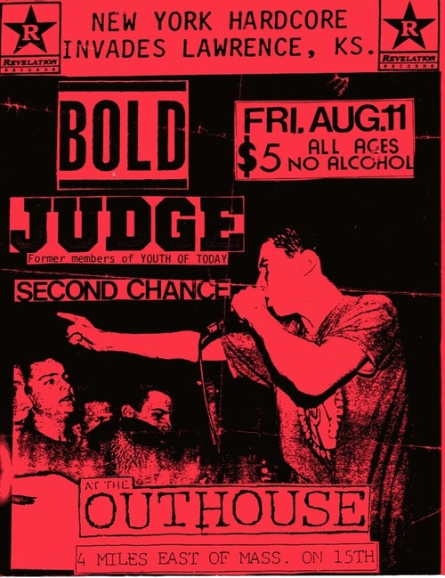 Bold-Judge-Second Chance @ Lawrence KS 8-11-89