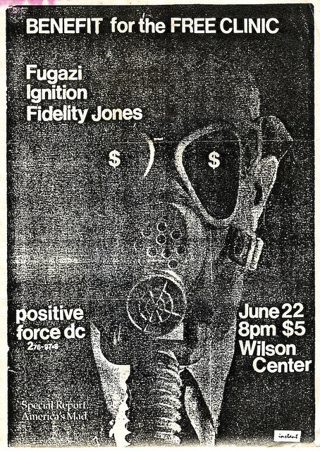Fugazi-Ignition-Fidelity Jones @ Washington DC 6-22-89