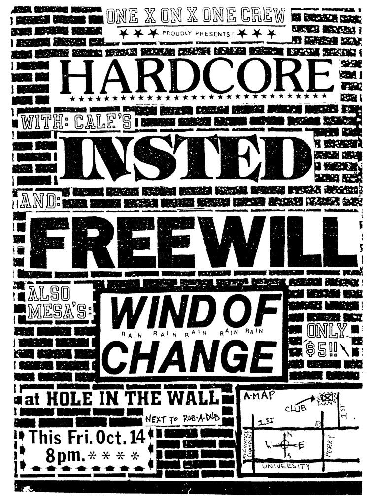 Insted-Free Will-Wind Of Change @ Phoenix AZ 10-14-89