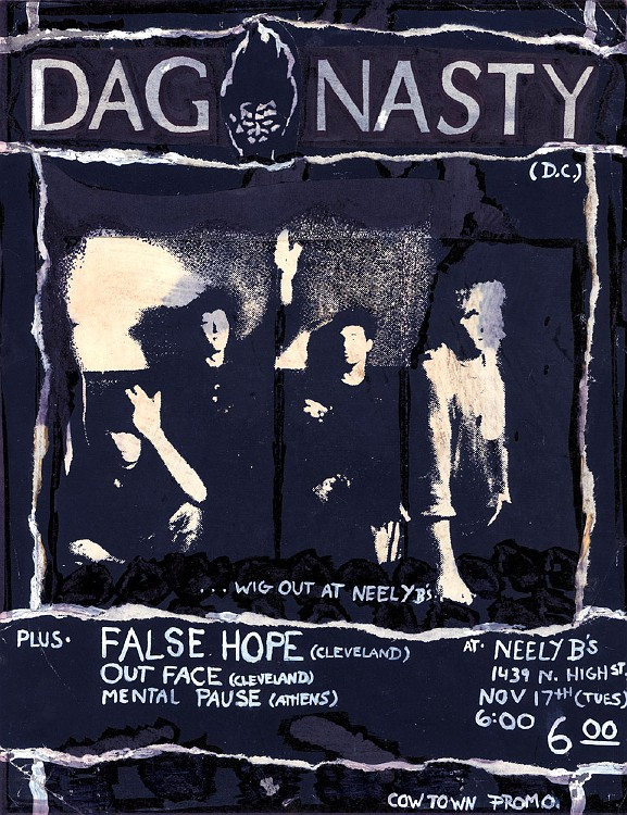 Dag Nasty-False Hope-Out Face-Mental Pause @ Columbus OH 11-17-87