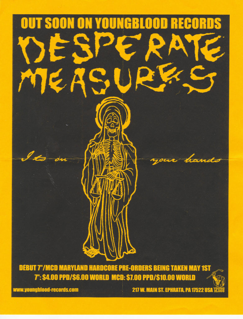Desperate Measures (Youngblood Records)