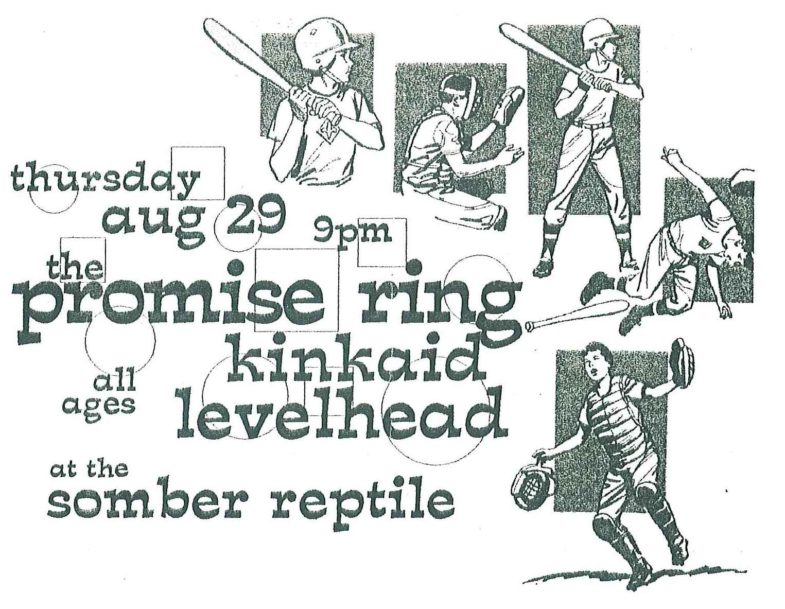 The Promise Ring-Kinkaid-Levelhead @ Atlanta GA 8-29-96