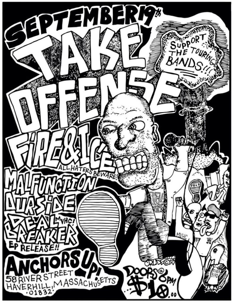 Take Offense-Fire & Ice-Malfunction-Our Side-Deal Breaker @ Haverhill MA 9-19-13