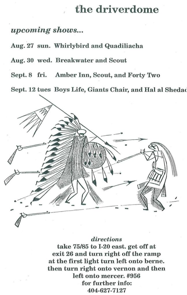 Atlanta Shows Summer 1994