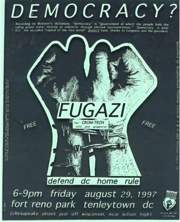 Fugazi @ Washington DC 8-29-97