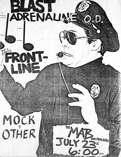 Bl'ast!-Adrenalin OD-Front Line @ San Francisco CA 7-23-88
