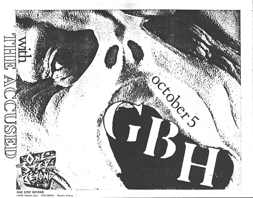 GBH-The Accused @ Santa Clara CA 10-5-UNKNOWN YEAR