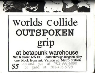 Worlds Collide-Outspoken-Grip @ Washington DC UNKNOWN DATE/YEAR