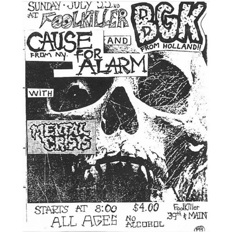 BGK-Cause For Alarm-Mental Crisis @ Kansas City MO 7-22-84