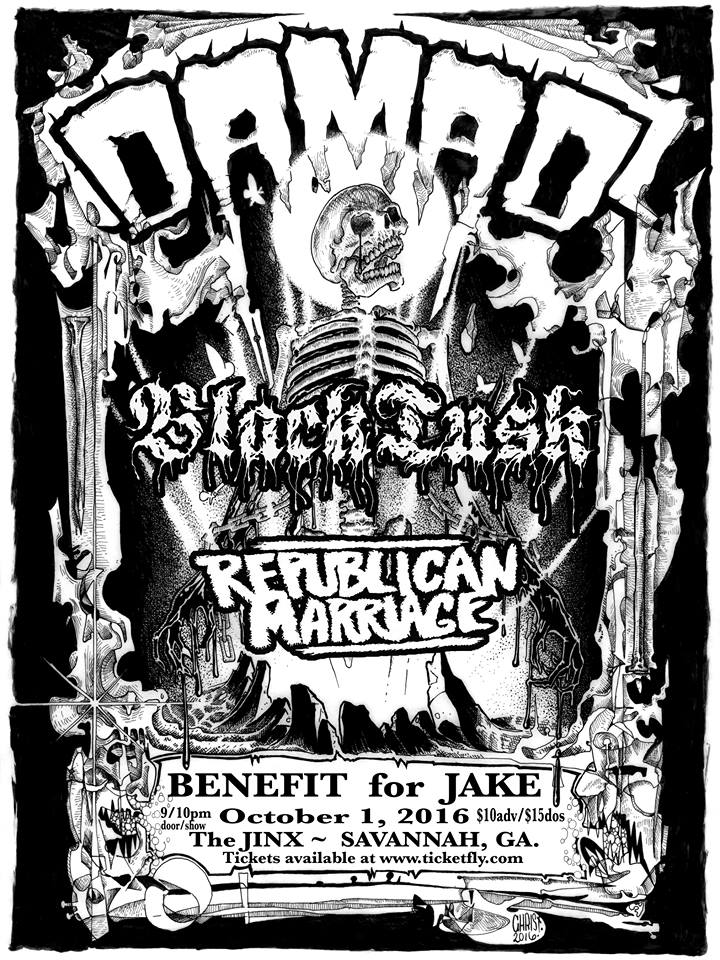Damad-Back Lash-Republican Marriage @ Savannah GA 10-1-16