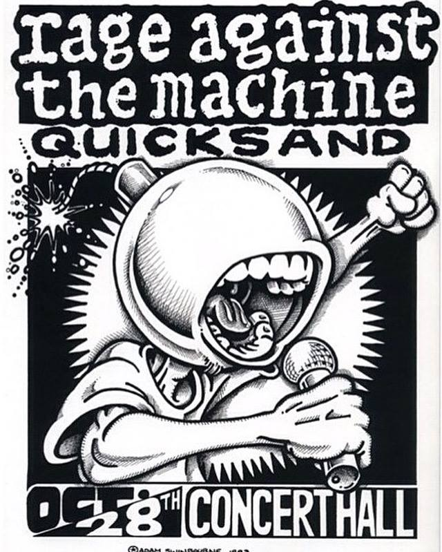 Rage Against The Machine-Quicksand @ Toronto Canada 10-28-93