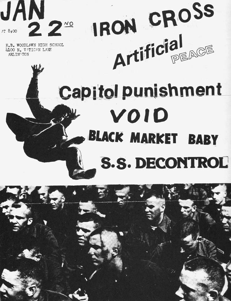 Iron Cross-Artificial Peace-Capital Punishment-Void-Black Market Baby-Society System DeControl @ Washington DC 1-22-82