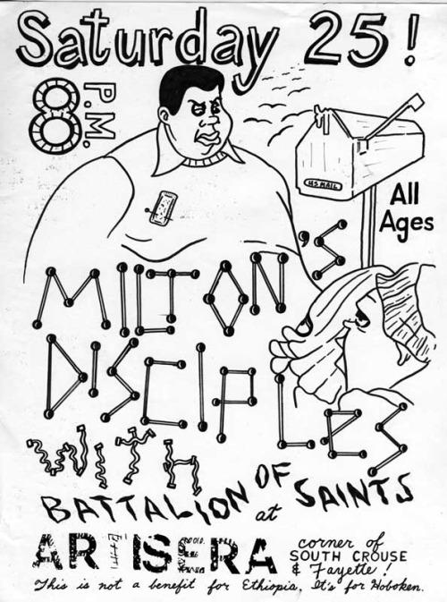 Battalion Of Saints-Milton's Disciples @ 1983