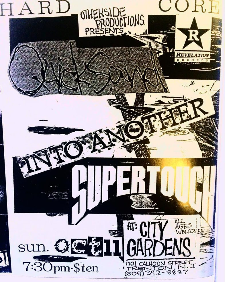 Quicksand-Into Another-Supertouch @ Trenton NJ 10-11-90