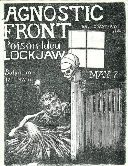 Agnostic Front-Poison Idea-Lockjaw @ Portland OR 5-7-UNKNOWN YEAR