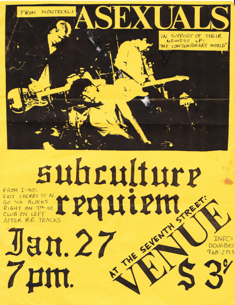 Asexuals-Subculture-Requiem @ UNKNOWN YEAR/LOCATION