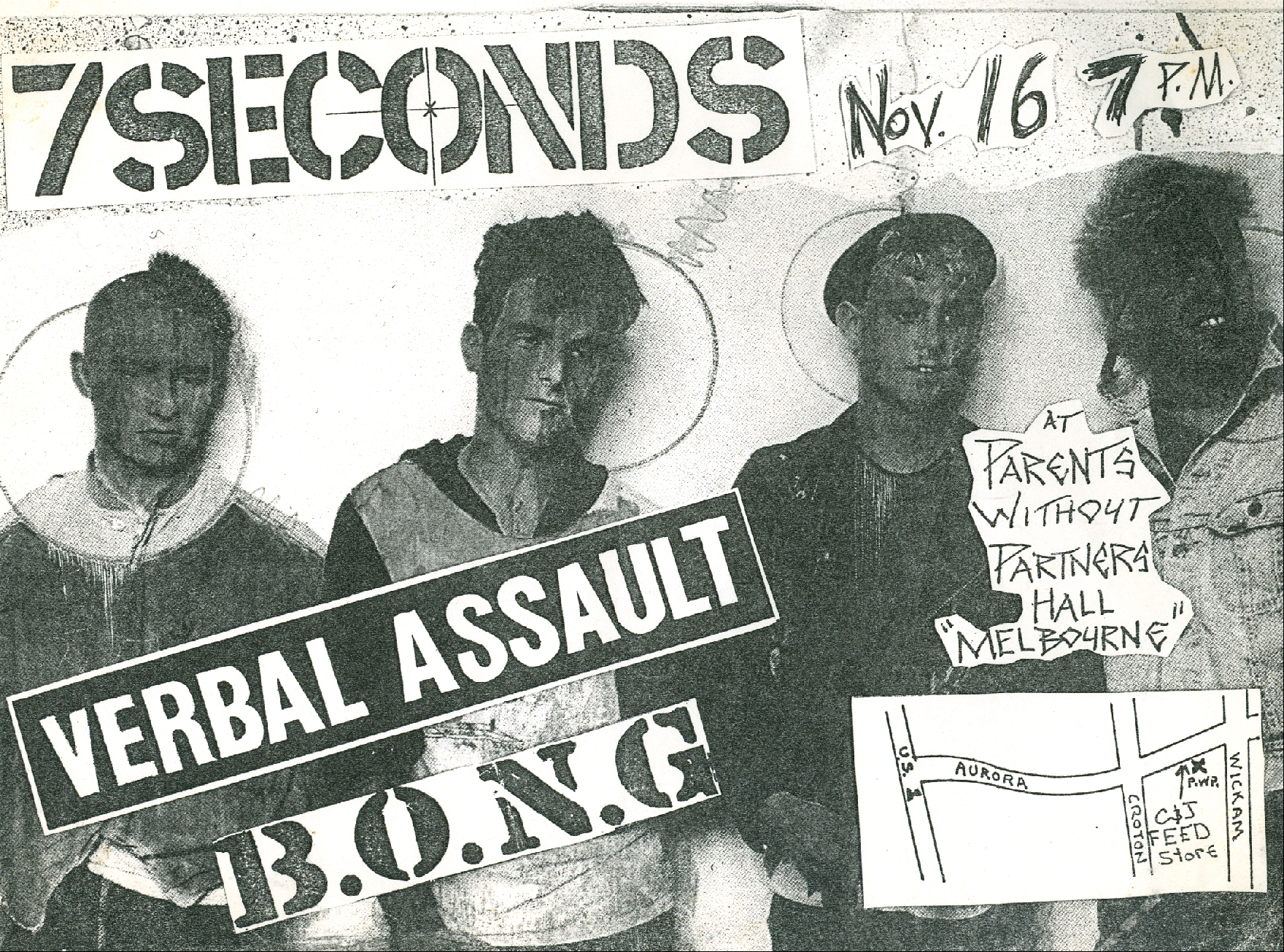 7 Seconds-Verbal Assault-Bong @ Melbourne FL 11-16-UNKNOWN YEAR