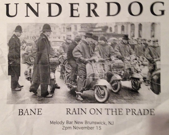 Underdog-Bane-Rain On The Parade @ New Brunswick NJ 11-15-98