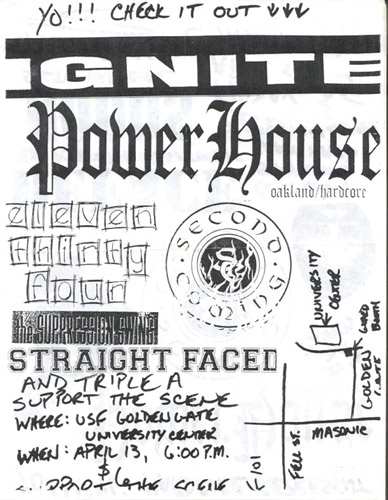 Ignite-Powerhouse-1134-The Suppression Swing-Straight Faced @ San Francisco CA 4-13-UNKNOWN YEAR