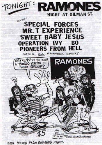 Special Forces-Mr. T Experience-Sweet Baby Jesus-Operation Ivy-Pioneers From Hell @ Berkeley CA
