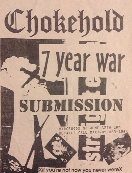 Chokehold-7 Year War-Submission @ Ridgewood NJ 6-12-UNKNOWN YEAR