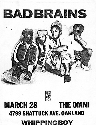 Bad Brains @ Oakland CA 3-28-UNKNOWN YEAR