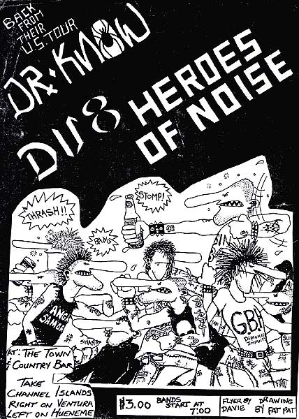Dr. Know-Heroes Of Noise @ Ventura CA