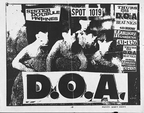 DOA-Sister Double Happiness @ San Francisco CA UNKNOWN DATE/YEAR