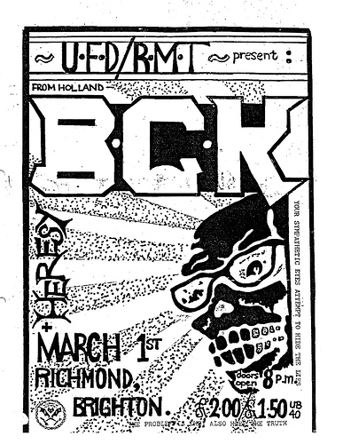 BGK-Heresy @ Brighton England 3-1-UNKNOWN YEAR