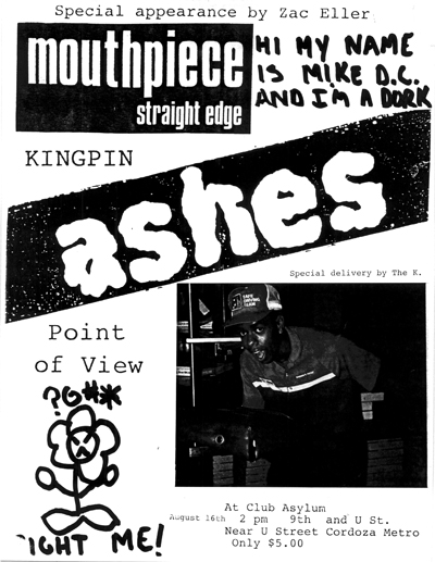 Mouthpiece-Ashes-Point Of View-Kingpin @ Washington DC 8-16-UNKNOWN YEAR