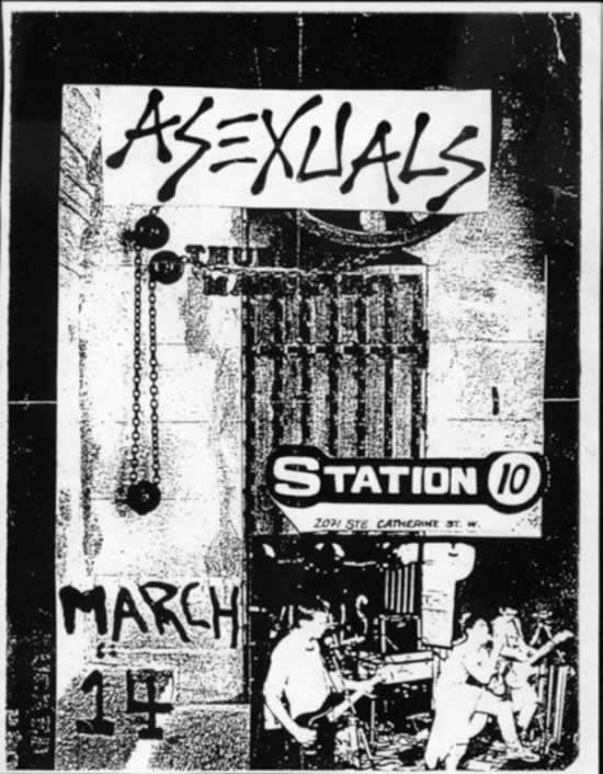 Asexuals @ Montreal Canada 3-14-UNKNOWN YEAR