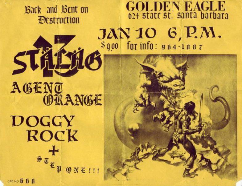 Stalag 13-Agent Orange-Doggy Rock @ Santa Barbara CA 1-10-UNKNOWN YEAR