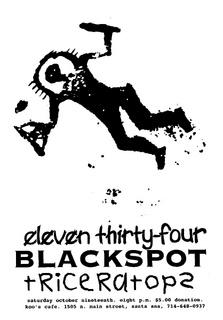 1134-Blackspot-Triceratopz @ Santa Ana CA 10-19-96