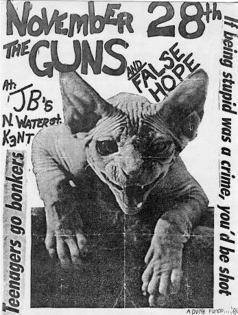 The Guns-False Hope @ Kent OH 11-28-UNKNOWN YEAR