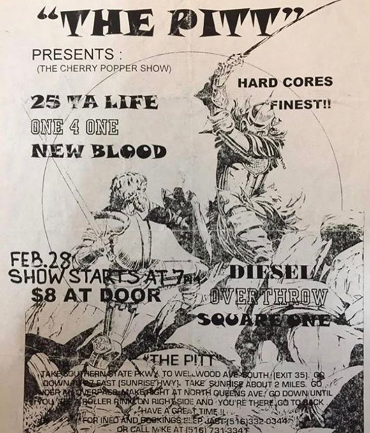 25 Ta Life-One 4 One-New Blood-Diesel-Overthrow-Square One @ Queens NY 2-28-UNKNOWN YEAR