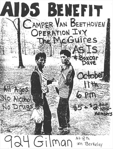 Camper Van Beethoven-Operation Ivy-The McGuires-As