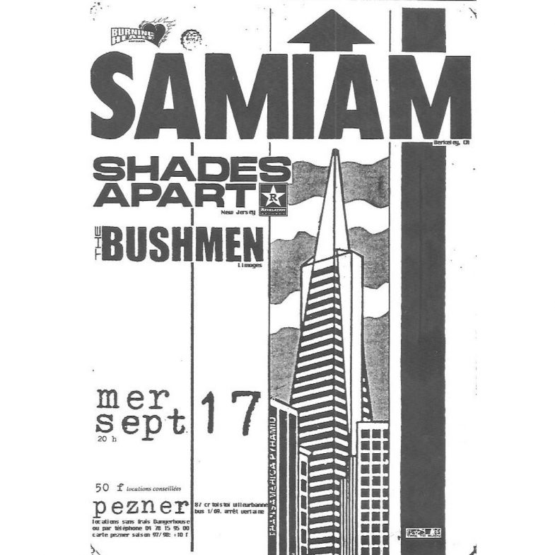 Samiam-Shades Apart-The Bushmen 9-17-UNKNOWN YEAR