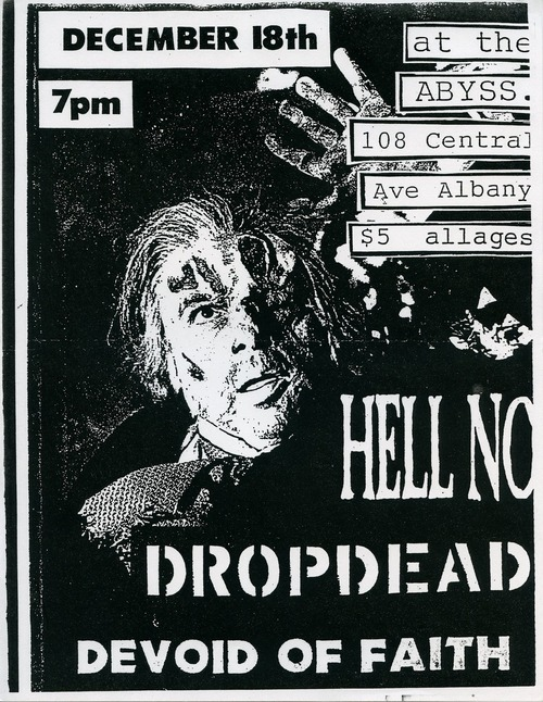 Hell No-DropDead-Devoid Of Faith @ Albany NY 12-18-UNKNOWN YEAR
