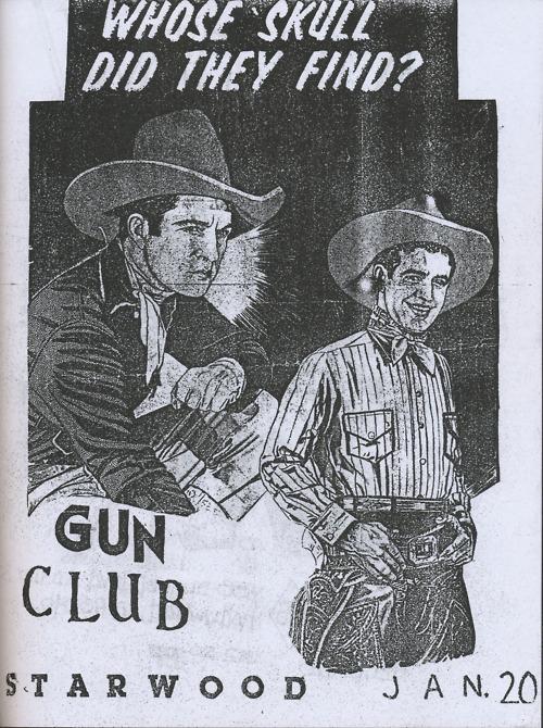 The Gun Club @ Los Angeles CA 1-20-UNKNOWN YEAR