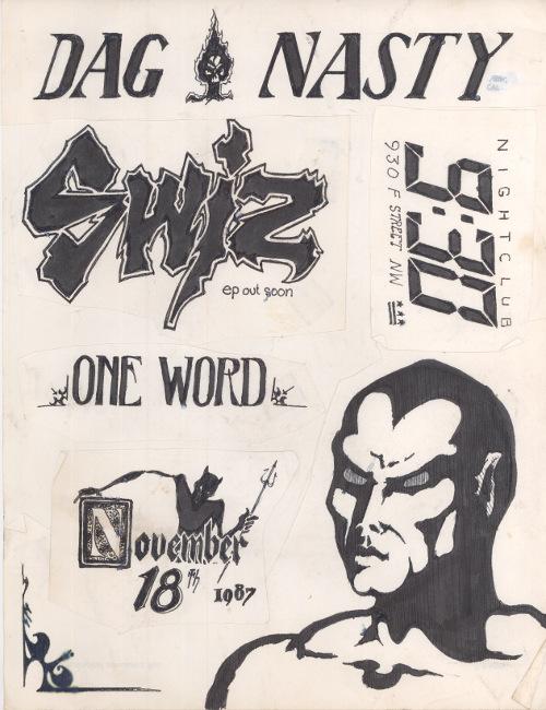Dag Nasty-Swiz-One Word @ Washington DC 11-18-87