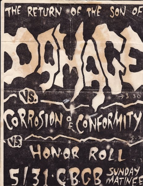Damage-Corrosion Of Conformity-Honor Role @ New York City NY 5-31-87