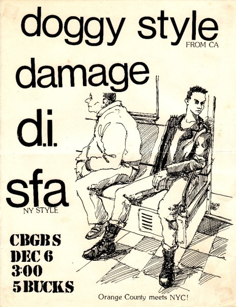 Doggy Style-Damage-DI-SFA @ New York City NY 12-6-87
