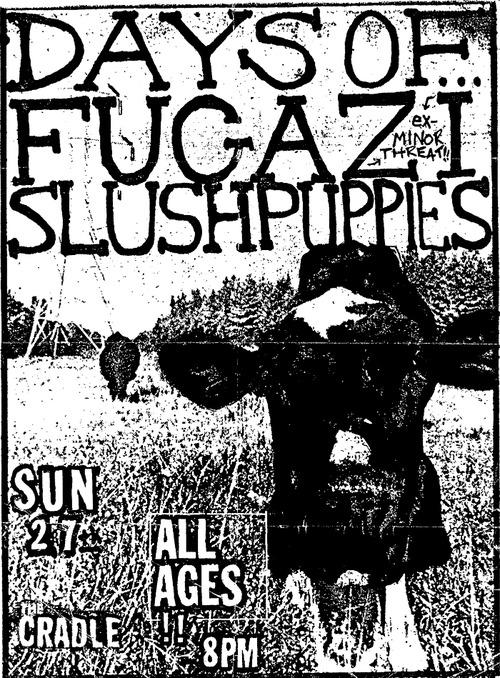 Fugazi-Days Of-Slush Puppies @ Chapel Hill NC 9-27-87