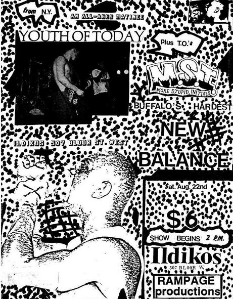 Youth Of Today-More Stupid Initials-New Balance @ Buffalo NY 8-22-87